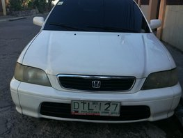 For sale like new Honda City 1998 model Manual