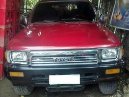 FOR SALE TOYOTA Hilux 1995 surf not running