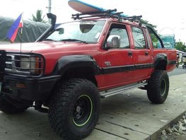 Mitsubishi Strada 1998 mdl.4x4 Red For Sale