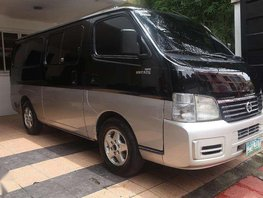 2008 Nissan Urvan Estate 50tkms only private family use only P448t neg