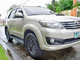 Toyota Fortuner diesel automatic 2013