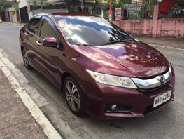 Honda City VX 2014 Automatic Red For Sale