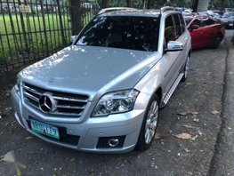 Mercedes Benz GLK 280 Silver For Sale