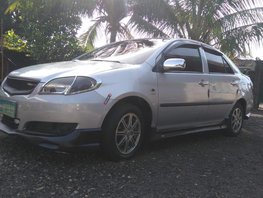 Toyota vios 1.3 E full bodykits SIlver For Sale