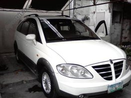 White 2006 Ssangyong Stavic Automatic Diesel for sale