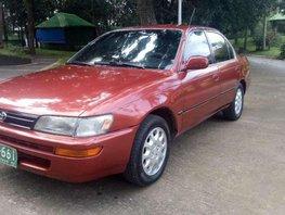 Toyota corolla gli1993 model for sale