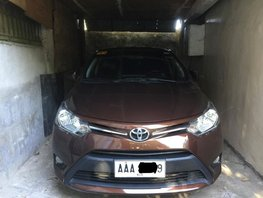 Used 2014 Toyota Vios Manual Gasoline for sale