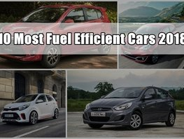 Top 10 Most Fuel Efficient Cars in the Philippines 2018