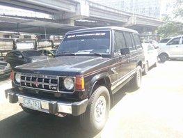 1990 Mitsubishi Montero Black For Sale