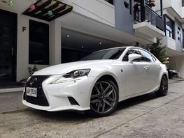 2014 Lexus Is350 Fsport White For Sale