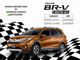 Honda Brv 1.5S CVT 2018 For Sale