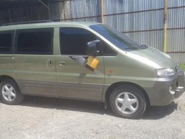 Hyundai Starex 2003 Green For Sale