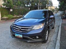 2013 Honda CRV AT Blue SUV For Sale
