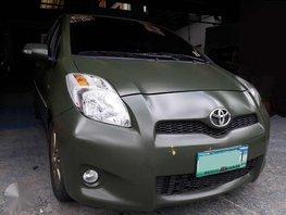 2012 Toyota Yaris 1.5GL Automatic Transmission Gasoline Engine
