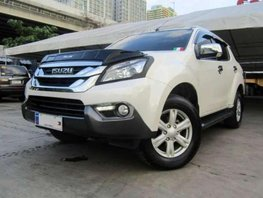 Almost Brand New 2016 Isuzu MUX 4x2 AT