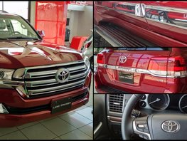 Red 2019 Toyota Land Cruiser Prado for sale in Manila
