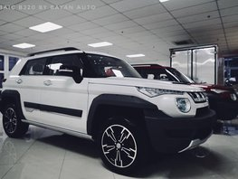 2017 BAIC BJ20-1.5L TURBO AUTOMATIC SUV EURO 5