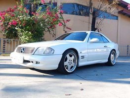 1997 Mercedes Benz SL320 Convertible for sale