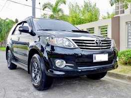 Toyota Fortuner diesel automatic 2015 FOR SALE