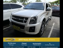 2013 Isuzu Alterra 3.0L AT Diesel for sale