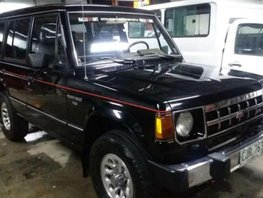 Selling Mitsubishi Montero US verson Automatic 4x4 1990
