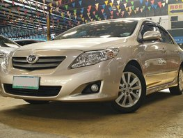 2010 TOYOTA Corolla Altis 1.6 V GAS AT for sale