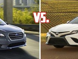 Toyota Camry vs Subaru Legacy: Which rules the premium mid-sized sedans segment?