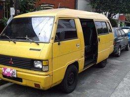FOR SALE MITSUBISHI L300 VERSA VAN 4d56 diesel 1999