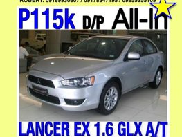 Mitsubishi Lancer 2014 Gasoline Automatic Silver, Red, Blue