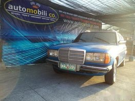 1981 Mercedes-Benz 240 Automatic Diesel well maintained