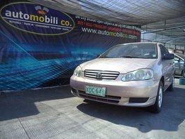 Toyota Corolla Altis 2001 Gasoline Automatic Beige