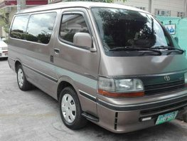 2005 Toyota HiAce Super Custom Van Acquired 2005All Power Smooth Condition Vince