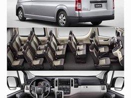 Sell Silver 2019 Toyota Hiace Van Automatic Diesel