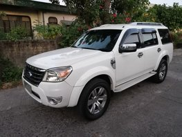 White 2009 Ford Everest Manual Diesel for sale