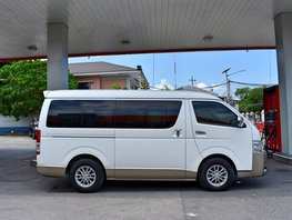 2017 Toyota Hiace Automatic Diesel for sale in Lemery
