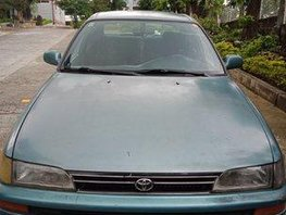 Blue Toyota Corolla 1995 at 270000 km for sale