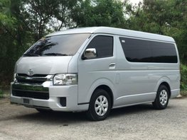 Sell 2nd Hand 2016 Toyota Hiace Automatic Diesel at 10000 km in Parañaque