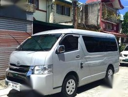 Selling Toyota Hiace 2016 Manual Diesel for sale in Parañaque
