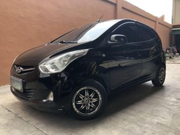 2nd Hand Hyundai Eon 2012 Manual Gasoline for sale in Quezon City