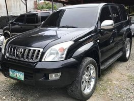 2nd Hand Black Toyota Land Cruiser Prado 2007 Automatic in Paete