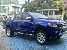 Blue 2013 Ford Ranger at 90000 km for sale