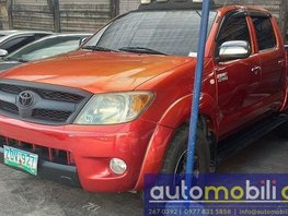 Red Toyota Hilux 2006 for sale in Automatic
