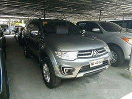 Grey Mitsubishi Montero Sport 2015 for sale in Cebu City