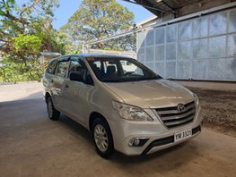 Sell Beige Toyota Innova 2016 Diesel Manual in Quezon City
