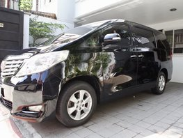 Sell Black 2011 Toyota Alphard 42000 km in Quezon City