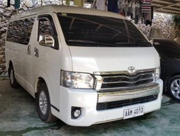 Selling Toyota Hiace 2014 Automatic Diesel in Parañaque
