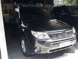 Selling Black Subaru Forester 2009 Automatic Gasoline