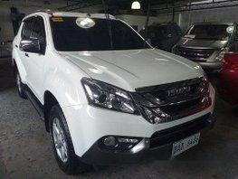 Selling White Isuzu Mu-X 2017 in Pasig