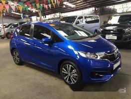 Blue Honda Jazz 2018 for sale in Marikina
