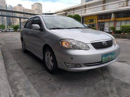Selling Silver Toyota Corolla Altis 2006 Automatic Gasoline in Pasig